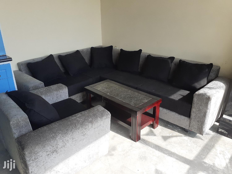 New L-shape Sofa+Tble