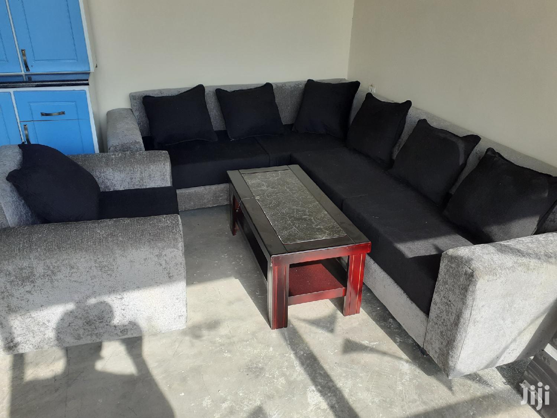 New L-shape Sofa+Tble | Furniture for sale in Bole, Addis Ababa, Ethiopia