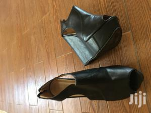 Black Pump Shoes   ጥቁር ሄል ጫማ   Shoes for sale in Addis Ababa, Addis Ketema