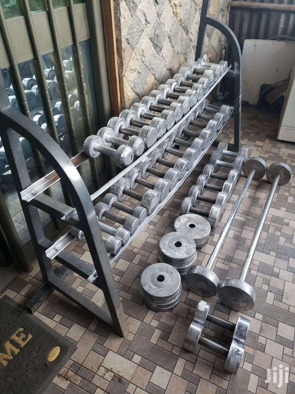 Dumbbell And Barbells