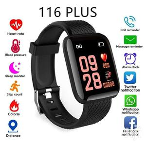 116 Plus Smart Watch | Smart Watches & Trackers for sale in Addis Ababa, Bole