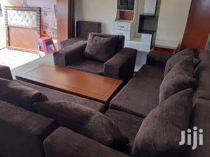 Brown L-Shape Sofa | Furniture for sale in Addis Ababa, Bole