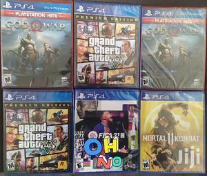 Ps4 (Playstation 4 ) GTA V . God Of War . Mortal Kombat 11 | Video Games for sale in Addis Ababa, Kolfe Keranio