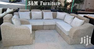 Nice L Shape Sofa   Furniture for sale in Addis Ababa, Bole