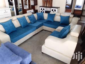 New Leather L-shape Sofa | Furniture for sale in Addis Ababa, Bole