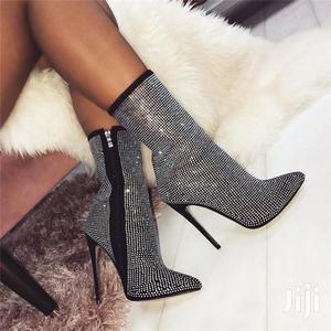 Super High Ankle Ladies Boots   Shoes for sale in Addis Ababa, Bole