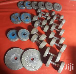 Dumbell and Barbels | Sports Equipment for sale in Addis Ababa, Kolfe Keranio