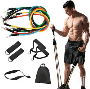 11pcs Resistance Bands Set Expander | Sports Equipment for sale in Addis Ababa, Arada