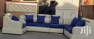 New Quality L-Shape Leather Sofa | Furniture for sale in Addis Ababa, Bole