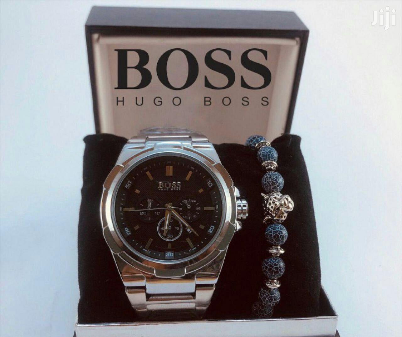 HUGO BOSS + Bracelets