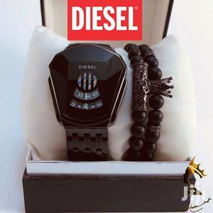 DIESEL WATCH + Bracelets | Watches for sale in Addis Ababa, Bole