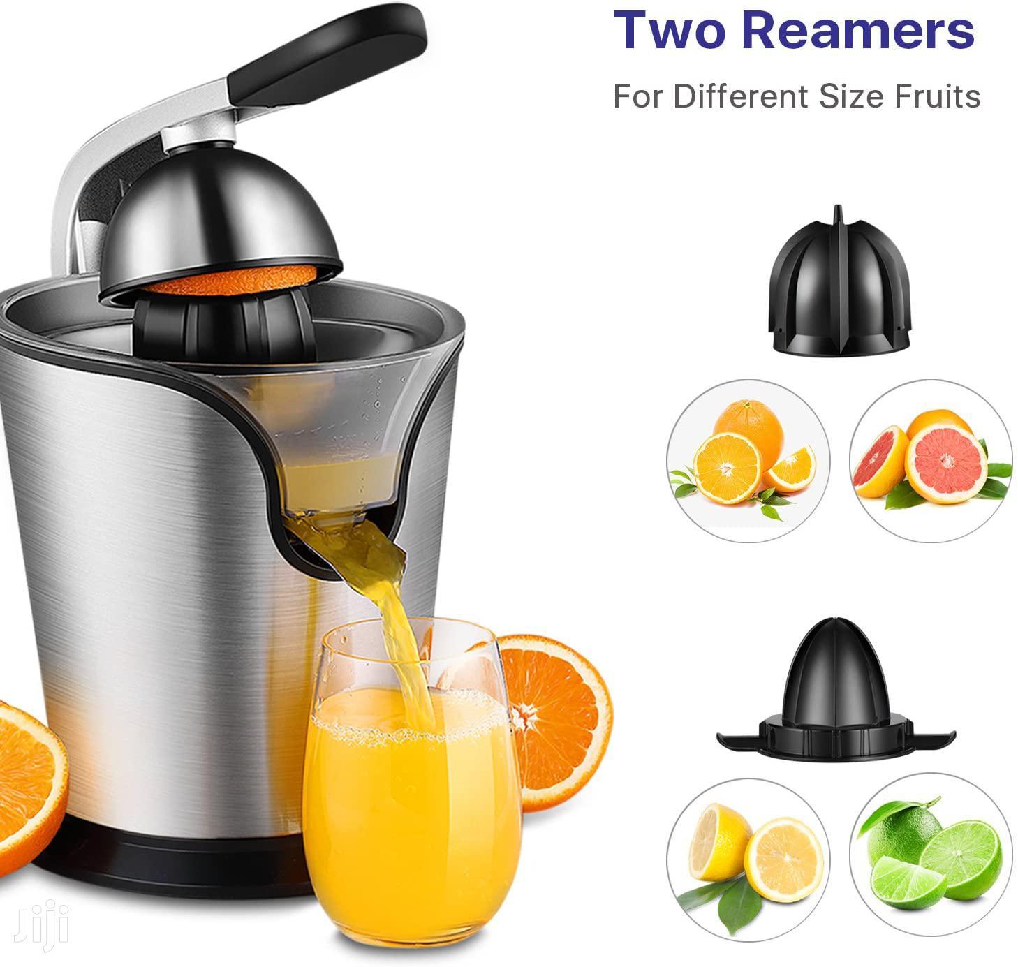 Hand Press Electric Citrus Orange Juicer
