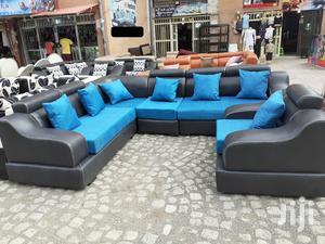 Large Size Leather (Imitation ) Sopha | Furniture for sale in Addis Ababa, Bole
