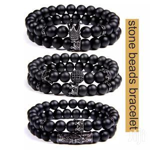 Black Stone Bracelets   Jewelry for sale in Addis Ababa, Bole