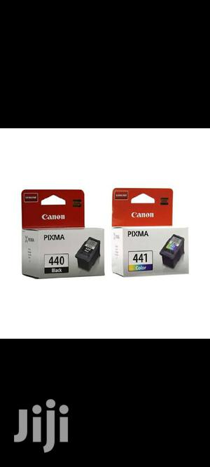 Canon Ink 440 Black And 441 Color   Accessories & Supplies for Electronics for sale in Addis Ababa, Arada
