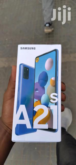 New Samsung Galaxy A21s 64 GB Blue   Mobile Phones for sale in Addis Ababa, Kirkos