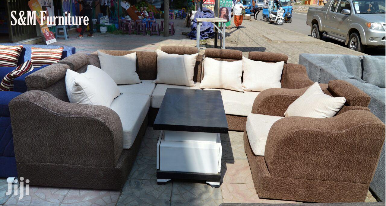 L Shaped Sofa | Furniture for sale in Bole, Addis Ababa, Ethiopia