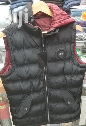 Black Sleeveless Pocket Puffer Jacket | Clothing for sale in Addis Ababa, Lideta