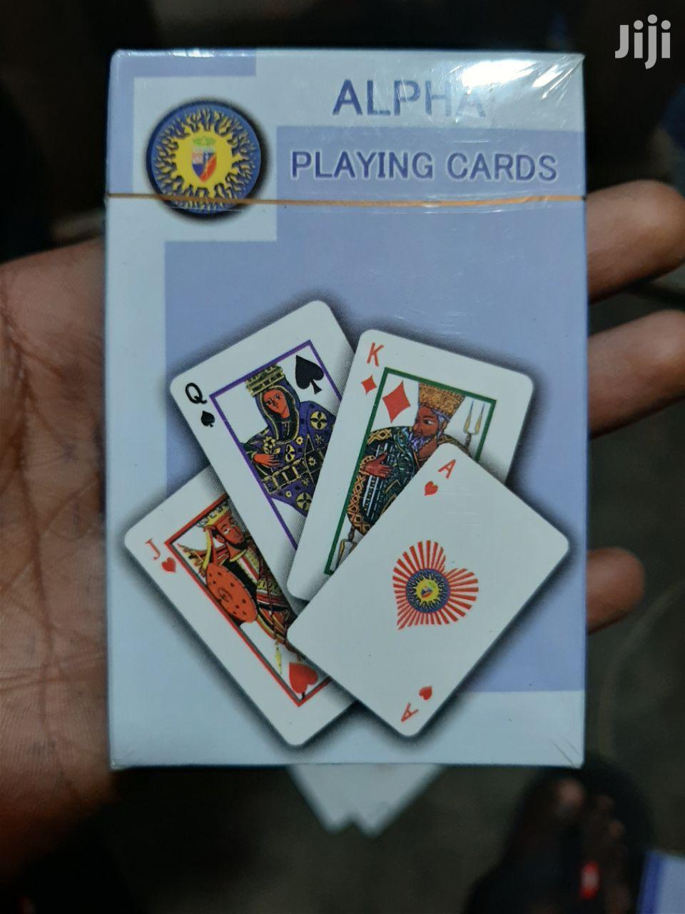 Playing Card መጫወቻ ካርታ