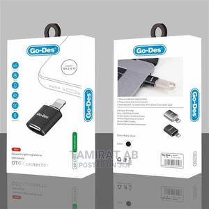 iPhone OTG - (Go-Des USB to Lightning OTG Converter) | Accessories for Mobile Phones & Tablets for sale in Addis Ababa, Yeka