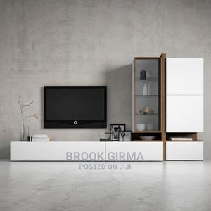 High Quality Living Room TV Cabinet Storage Cabinet | Furniture for sale in Addis Ababa, Nifas Silk-Lafto