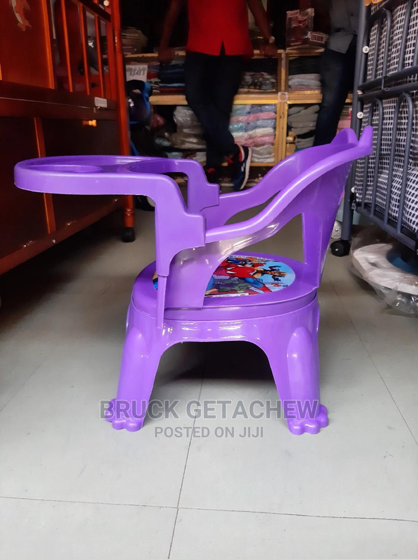 Baby Dinning Chair የህፃናት መመገቢያ ወንበር ከነጠረጰዛ   Children's Furniture for sale in Yeka, Addis Ababa, Ethiopia