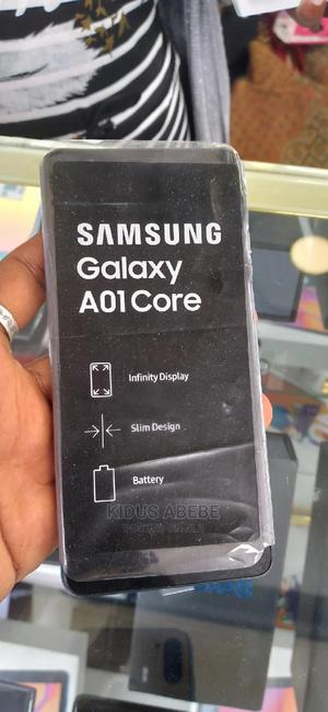 New Samsung Galaxy A01 Core 16GB Black | Mobile Phones for sale in Addis Ababa, Kirkos