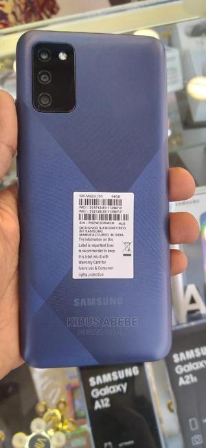 New Samsung Galaxy M02 32 GB Blue | Mobile Phones for sale in Addis Ababa, Kirkos