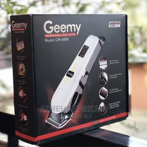GEEMY Rechargeable Hair Cleeper   Tools & Accessories for sale in Addis Ababa, Bole