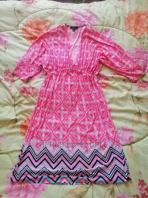 Pink v Neck Dress | Clothing for sale in Addis Ababa, Bole