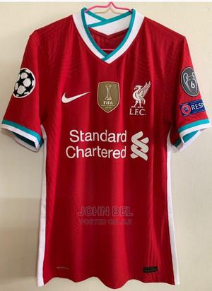Liverpool 20/21 Home Jersey | Clothing for sale in Addis Ababa, Kolfe Keranio