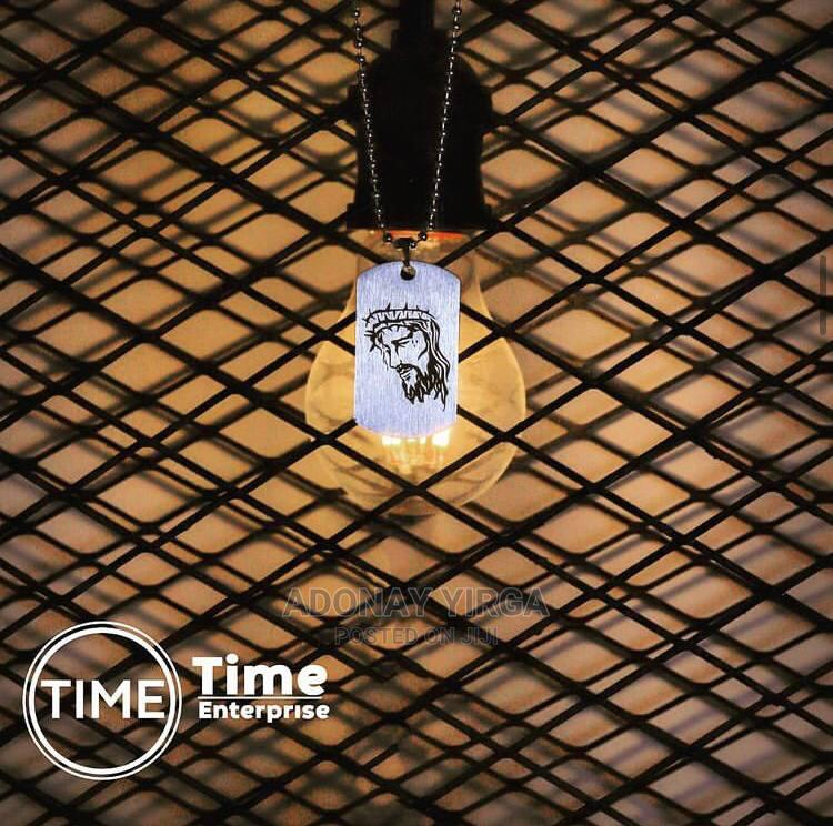 Jesus Art Necklace