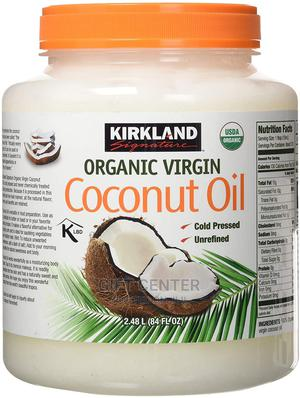 Kirkland Organic Virgin Coconut Oil - 2.38kg Tub   Vitamins & Supplements for sale in Addis Ababa, Arada