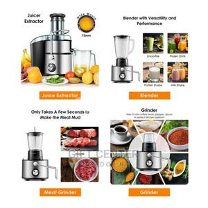 Sayona 4 in 1 Multifunction Juice Extractor Juicer Blender | Kitchen Appliances for sale in Addis Ababa, Bole