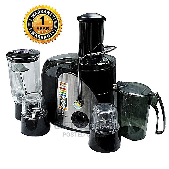 Sayona 4 in 1 Multifunction Juice Extractor Juicer Blender | Kitchen Appliances for sale in Bole, Addis Ababa, Ethiopia
