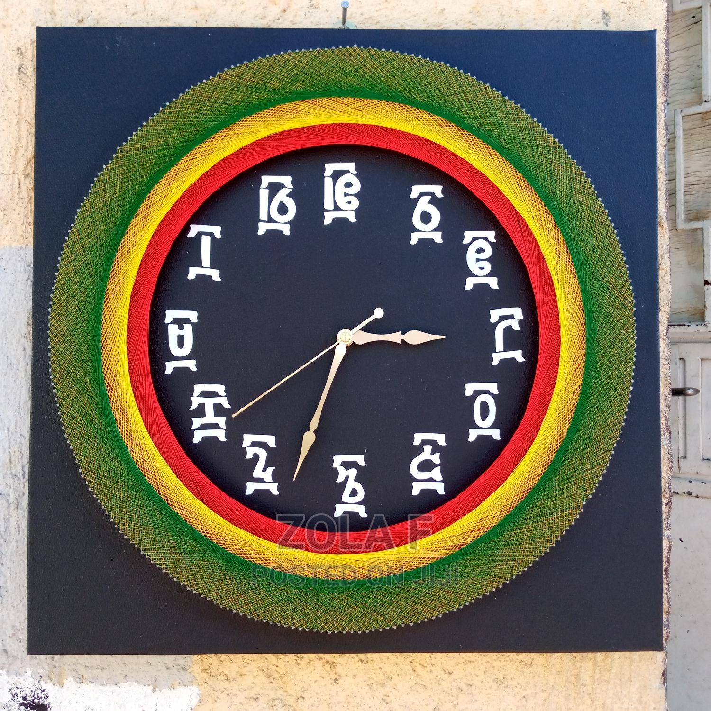 Archive: String Art Clocks