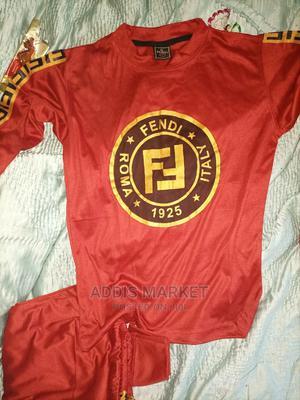 Fendi Complett ቀይ ቡኒ የሴቶች ሙሉ ቱታ   Clothing for sale in Addis Ababa, Kirkos