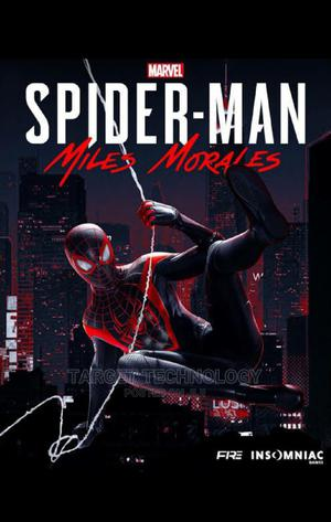 Spider-Man: Miles Morals | Video Games for sale in Addis Ababa, Bole