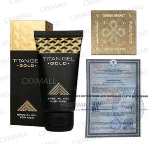 Titan Gel Gold Edition | Sexual Wellness for sale in Addis Ababa, Bole