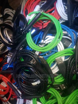 Charger Cable (Data Cable) | Accessories & Supplies for Electronics for sale in Addis Ababa, Nifas Silk-Lafto