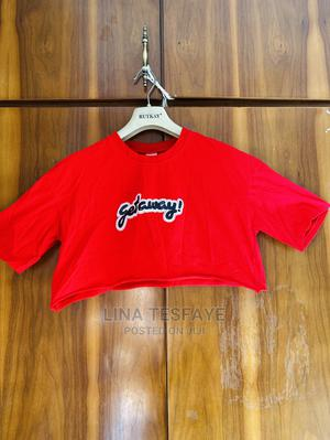Red Crop Top | Clothing for sale in Addis Ababa, Kirkos