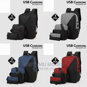 3 Pcs Backpack   Bags for sale in Addis Ababa, Bole