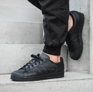 Adidas Superstar All Black | Shoes for sale in Addis Ababa, Bole
