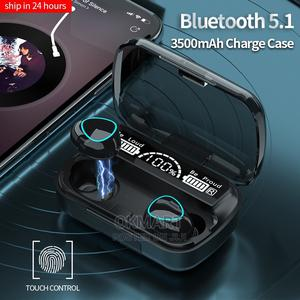 M10 Earbuds With Power Bank   Headphones for sale in Addis Ababa, Kolfe Keranio