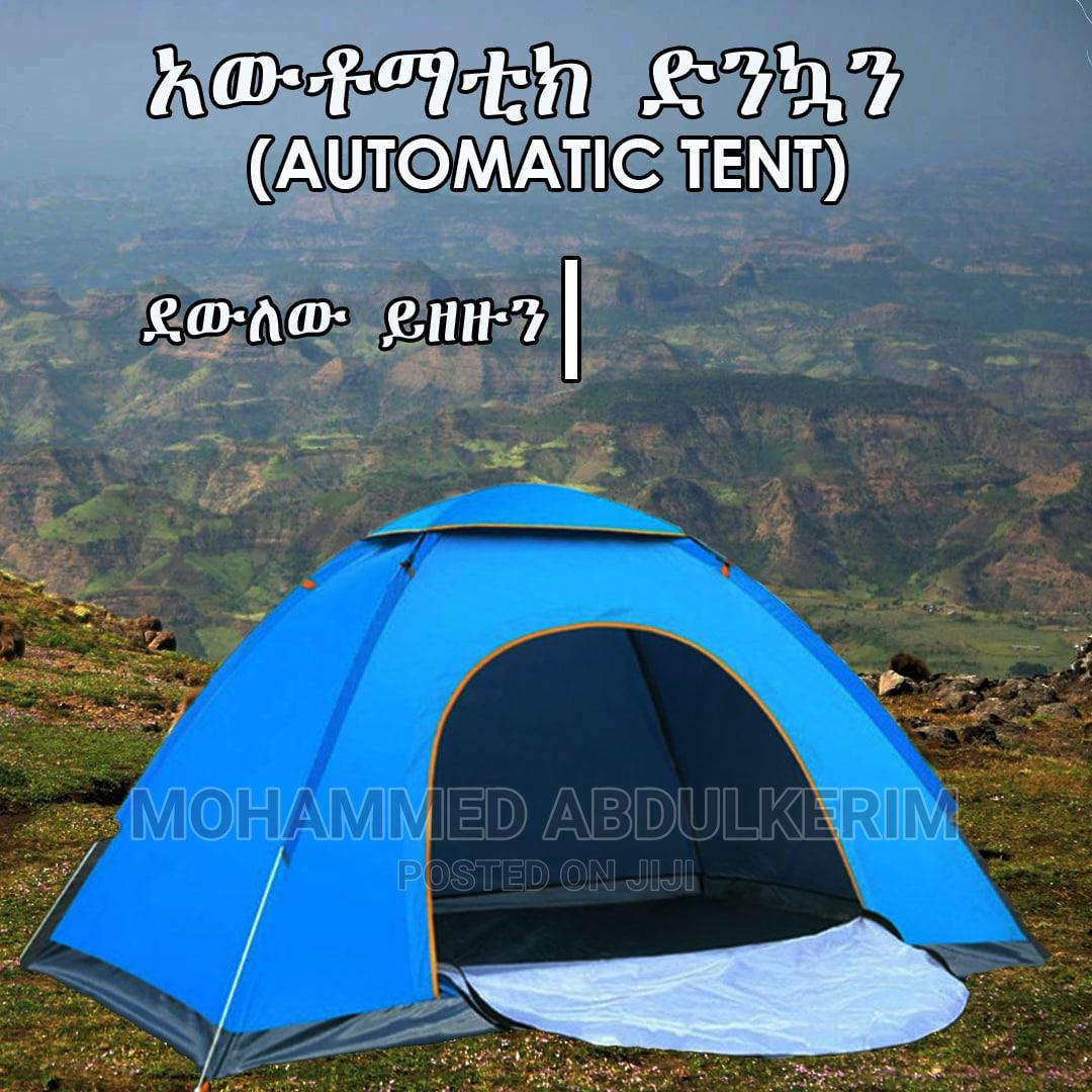 Automatic Tent And Sleeping Bag   Camping Gear for sale in Bole, Addis Ababa, Ethiopia