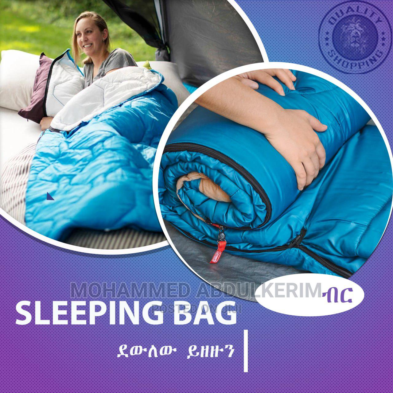 Automatic Tent And Sleeping Bag