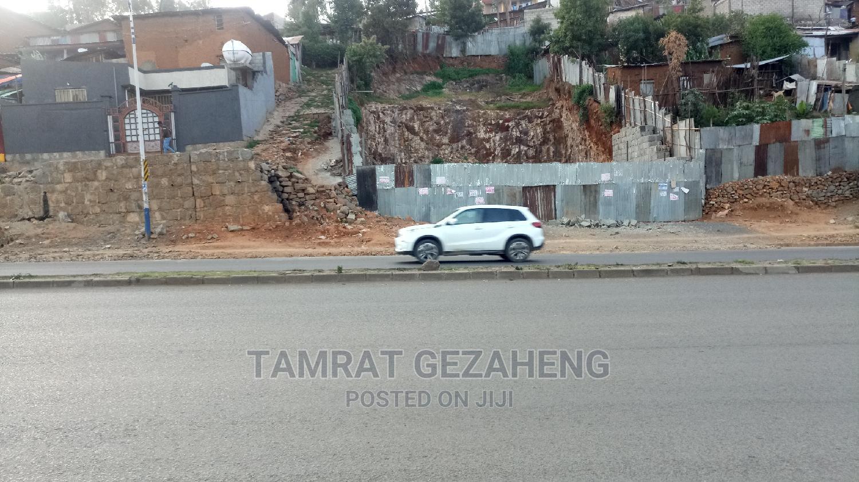 የሚሸጥ ባዶ ቦታ መንገድ ዳር፤ ኮተቤ ካራ No Commission   Land & Plots For Sale for sale in Yeka, Addis Ababa, Ethiopia