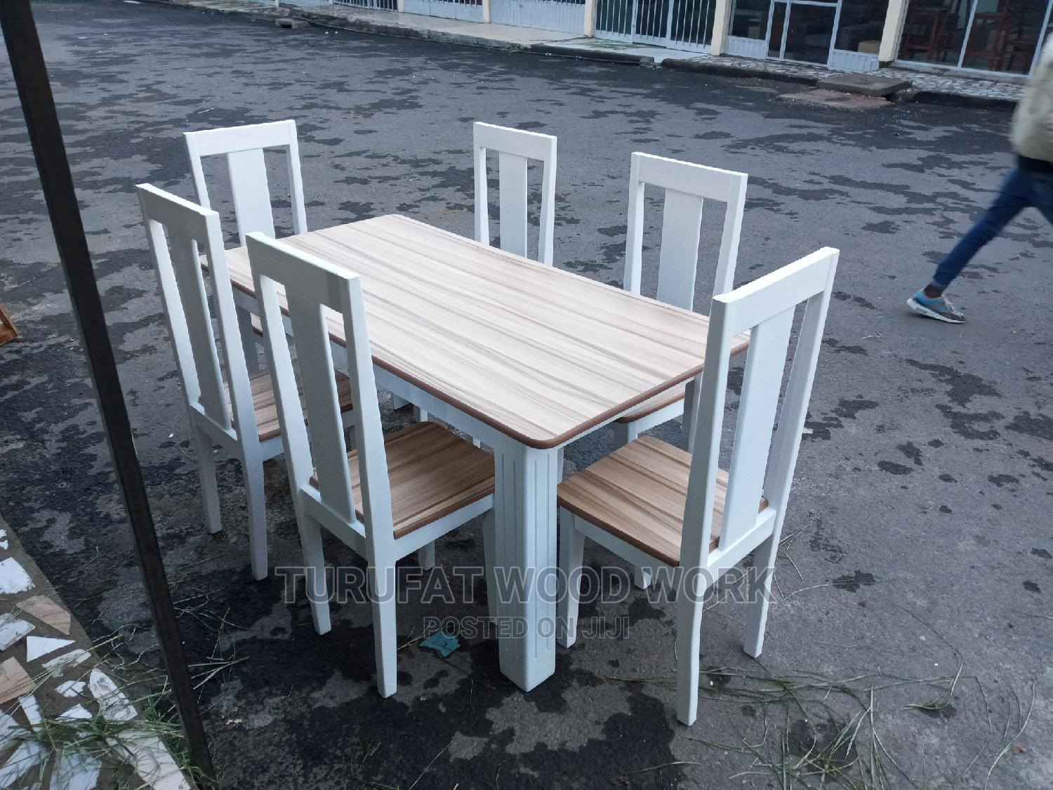 New Dining Table(6 Chair) | Furniture for sale in Yeka, Addis Ababa, Ethiopia