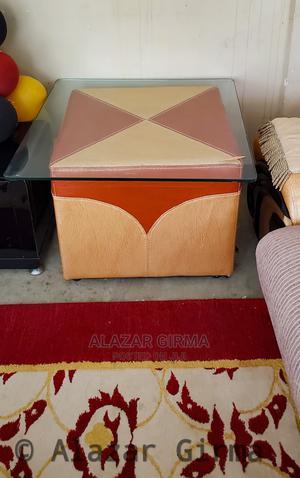 A Big Leather Sofa for Big Living Room. | Furniture for sale in Addis Ababa, Bole