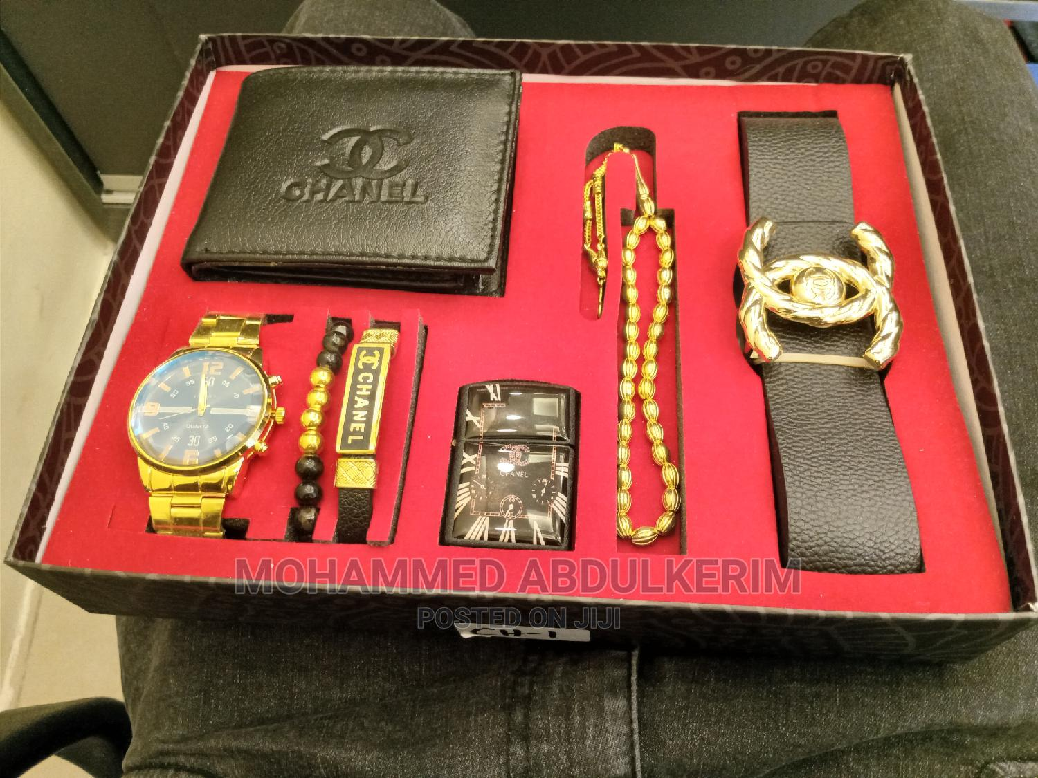 Watch With Different Accessories